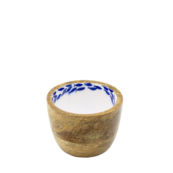 Small Fish Shoal Wooden Bowl
