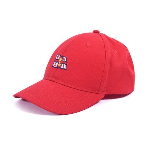 Small Flag Cap Red