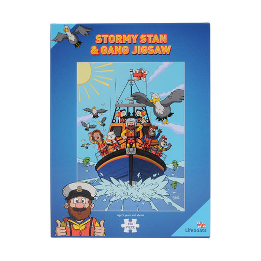 Stormy Stan & Gang Jigsaw Puzzle
