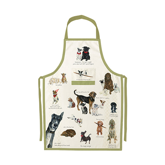 The Little Dog Laughed Biscuit Club Apron