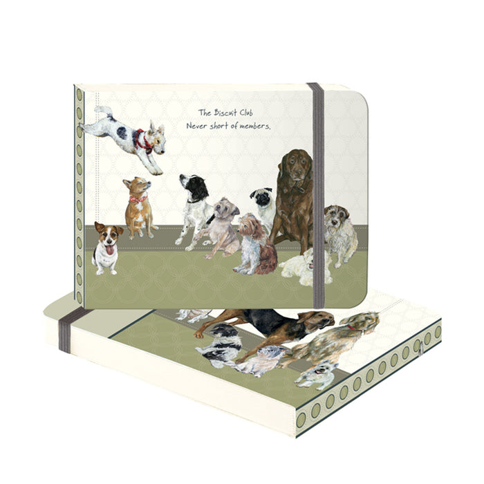 The Little Dog Laughed Biscuit Club Flip Notebook