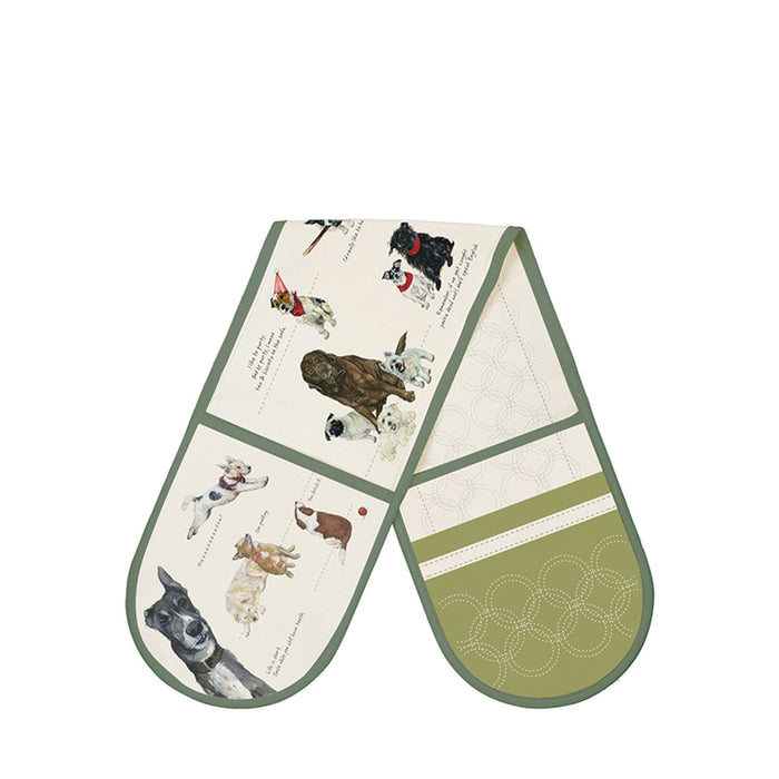 The Little Dog Laughed Biscuit Club Oven Glove
