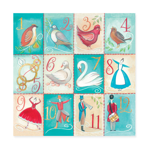 Twelve Days, Pack of 10 Christmas Cards