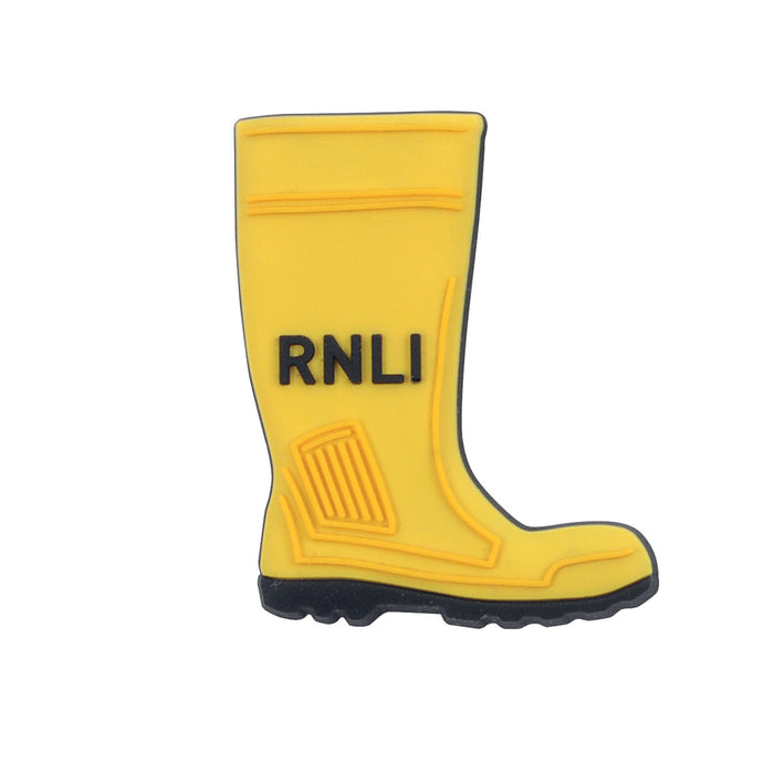Yellow Welly Fridge Magnet
