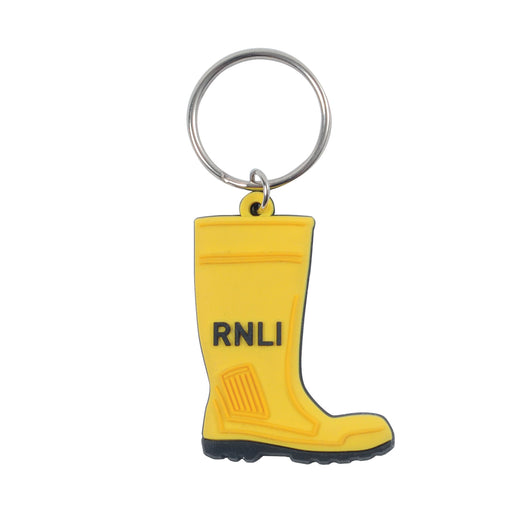 Yellow Welly Keyring