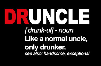 DRUncle T-Shirt Printed $29.50 Each