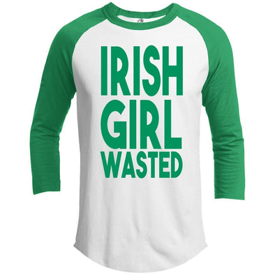 Irish girl wasted