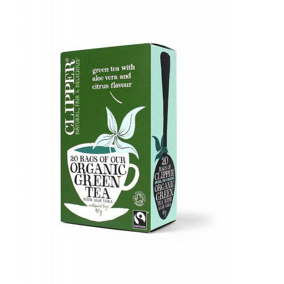 Clipper Green Tea & Aloe Vera - Organic