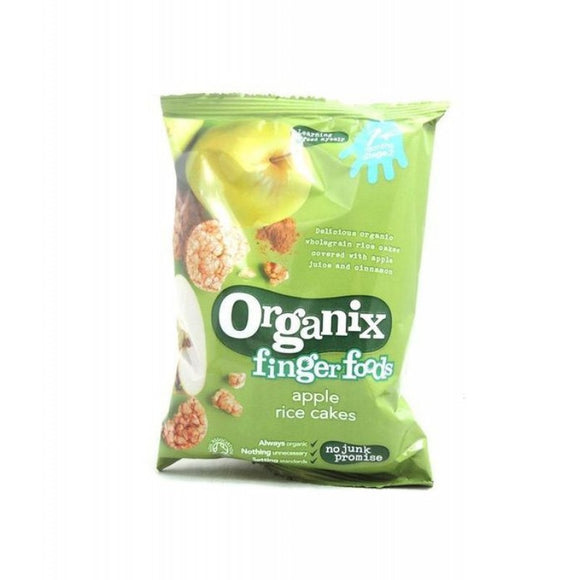 Organix Apple Rice Cakes (7+)