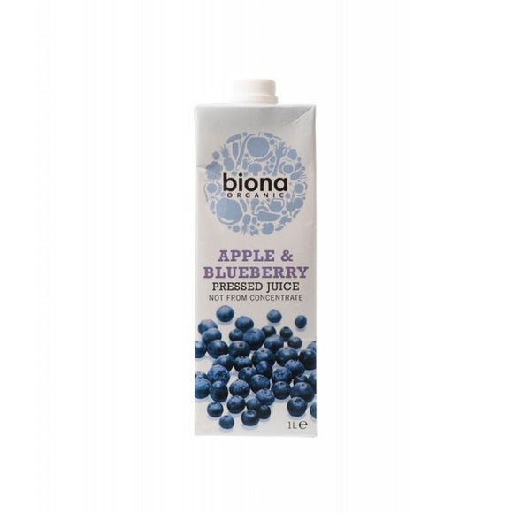 Biona Apple & Blueberry Juice