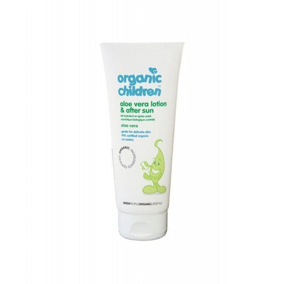 Green People Childrens Aloe Vera & After Sun Lotion - Organic