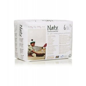 Nature Baby Naty Nappy Pants - Size 6 / XL Nappy Pants, 16+kg (35+lb)