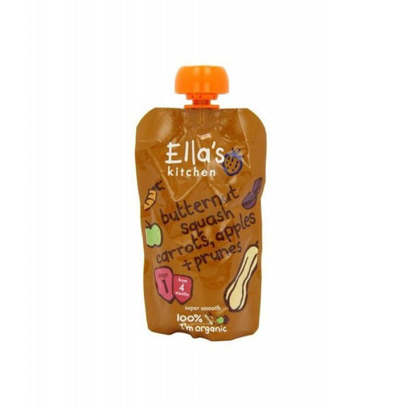 Ella's Kitchen Butternut Squash Carrot Apple Prune(St1)