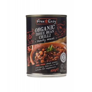 Free & Easy Three Bean Chilli