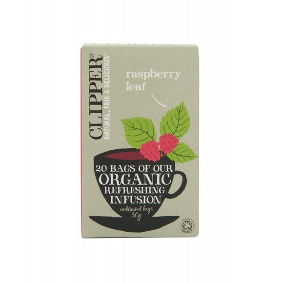 Clipper Organic Raspberry Leaf Tea Bags (Multipack)