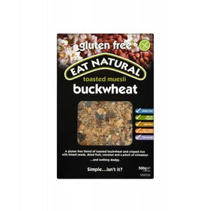 Eat Natural Toasted Muesli With Buckwheat - Gluten Free