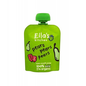 Ella's Kitchen First Taste Pears Pears Pears
