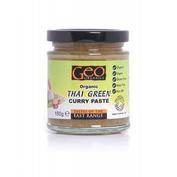 Geo Organics Organic Thai Green Curry Paste