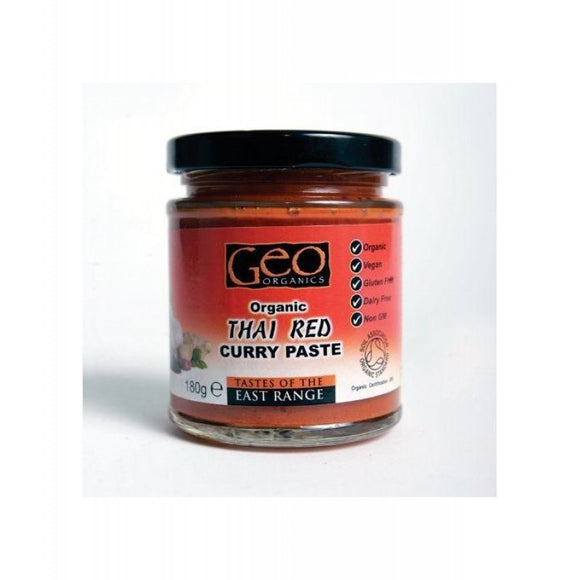 Geo Organics Organic Thai Red Curry Paste
