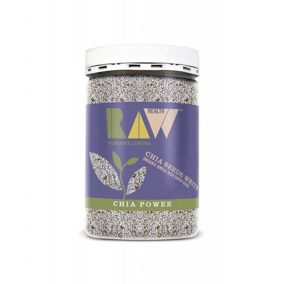 Raw Health White Chia Seeds