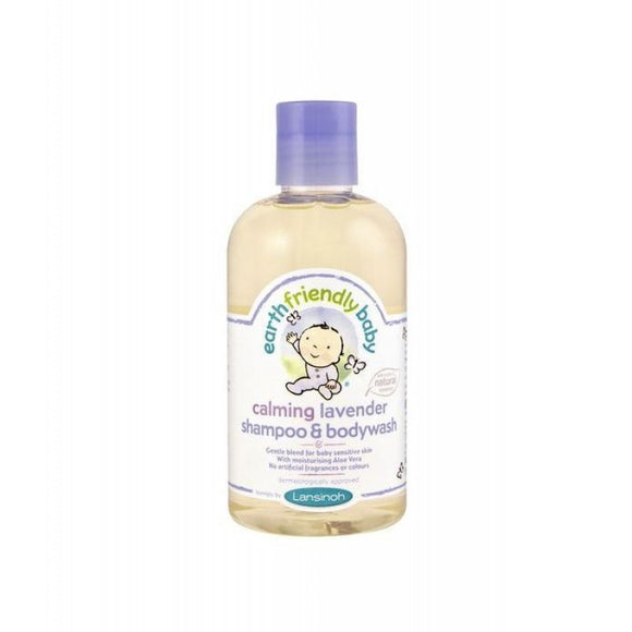 Earth Friendly Baby Calming Lavender Shampoo & Body Wash