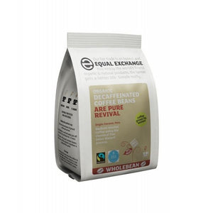 Equal Exchange Decaffeinated Coffee Beans - Swiss Water