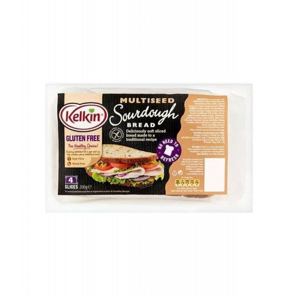 Kelkin Multiseed Sourdough Bread - Gluten Free