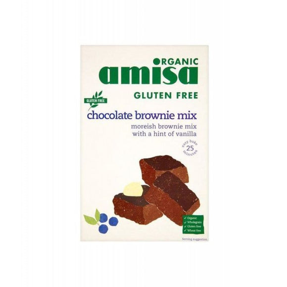 Amisa Chocolate Brownie Mix - Gluten Free