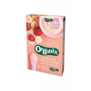 Organix Strawberry & Banana Porridge (4+)