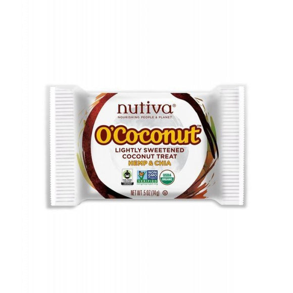 Nutiva O'Coconut Treat Hemp & Chia