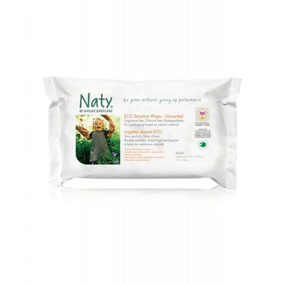Nature Baby Sensitive Travel Wipes