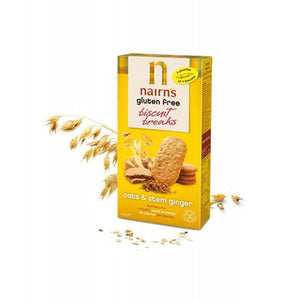 Nairns Stem Ginger Biscuit Breaks - Gluten Free