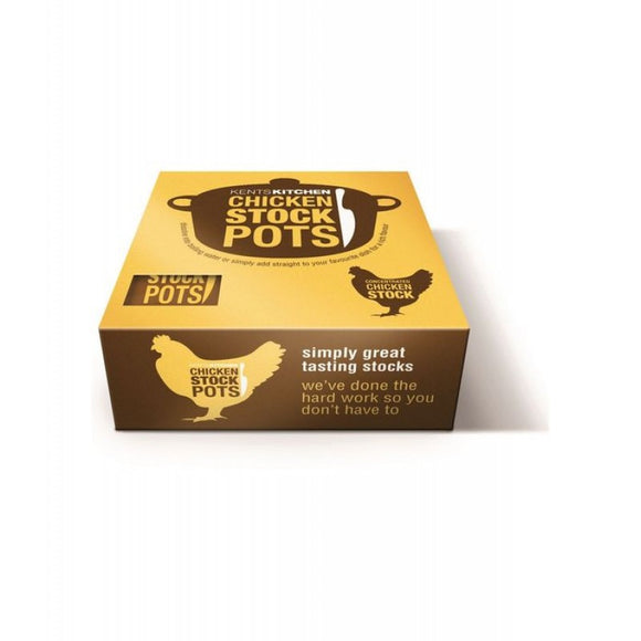 Kents Kitchen Gluten Free Chicken Stockpots (8Pack)