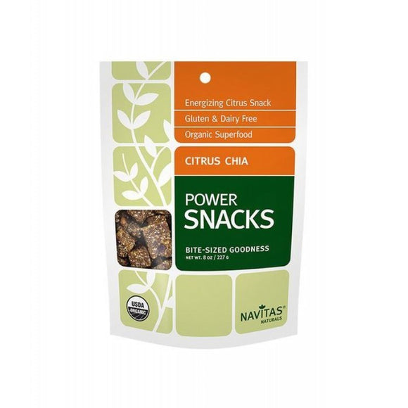 Navitas Naturals Power Snacks - Citrus Chia