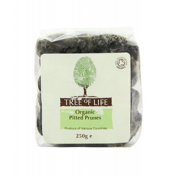 Tree Of Life Organic Prunes - Pitted
