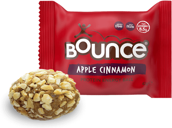 Bounce Apple Cinnamon Protein Punch Energy Ball