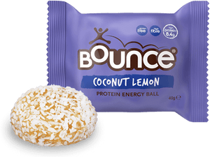 Bounce Coconut Lemon Protein Crush Energy Ball