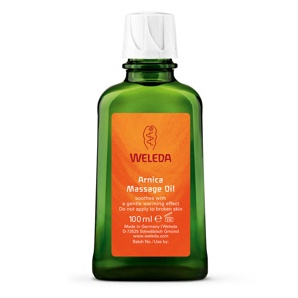 Weleda Arnica Massage Oil Bottle