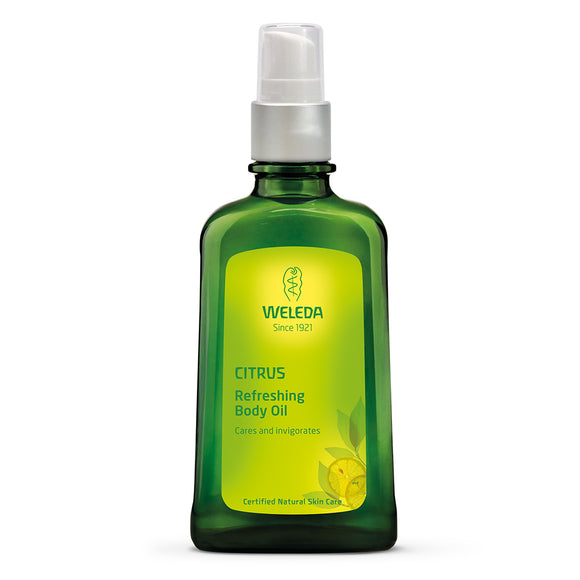 Weleda Citrus Refreshing Body Oil Bottle