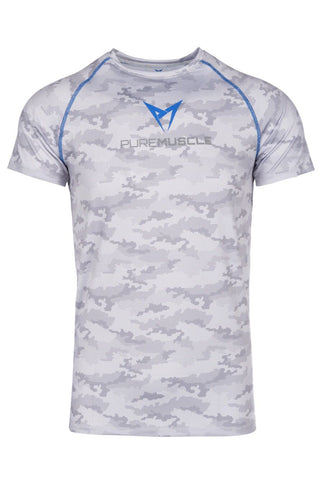 Camouflage Training T-Shirt White/Grey