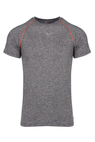 Performance Short Sleeve T-Shirt Grey Marl