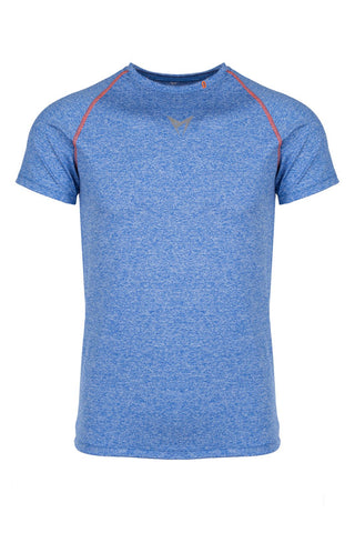 Performance Short Sleeve T-Shirt Blue Marl