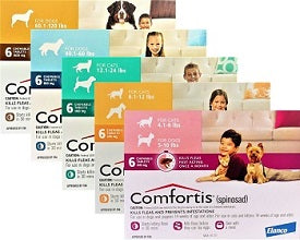 Comfortis Flea and Tick Prevention (Rx) REBATE OFFER