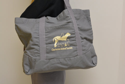 Large Tote- Charleston Animal Society (3 colors available!)