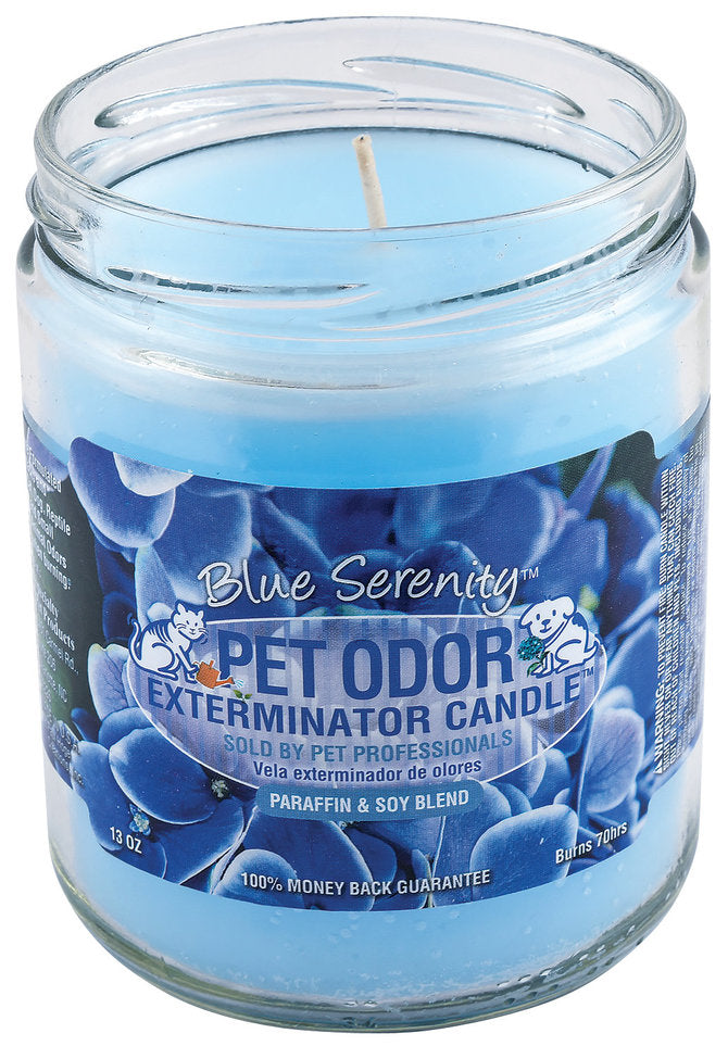 Candle - Pet Odor Exterminator - Blue Serenity