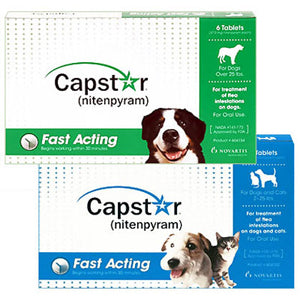 Capstar Fast Acting Flea Prevention