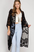 Load image into Gallery viewer, Lace kimono