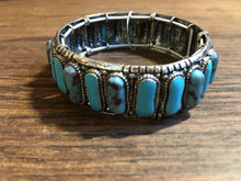 Load image into Gallery viewer, Southwest stone cuff