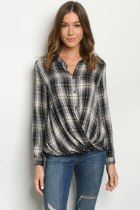 Plaid Fall Top