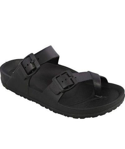 Dallas Black Sandals